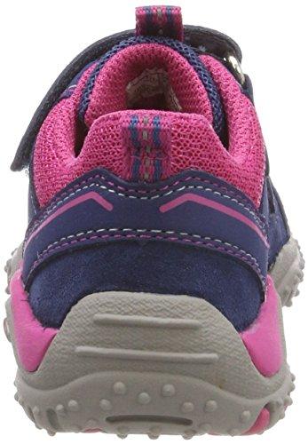 Superfit Mädchen SPORT4 Sneaker, Blau (Water Multi), 32 EU - 3