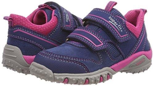 Superfit Mädchen SPORT4 Sneaker, Blau (Water Multi), 32 EU - 5