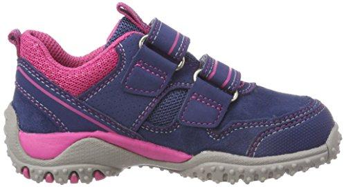 Superfit Mädchen SPORT4 Sneaker, Blau (Water Multi), 32 EU - 6