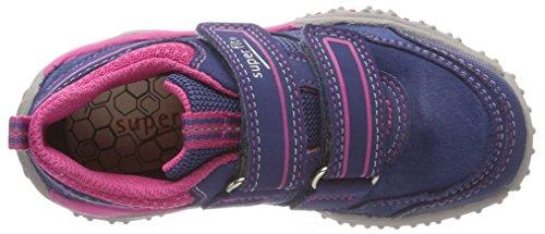 Superfit Mädchen SPORT4 Sneaker, Blau - 7
