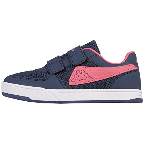 Kappa Mädchen Trooper Light Sun Kids Sneaker, Blau