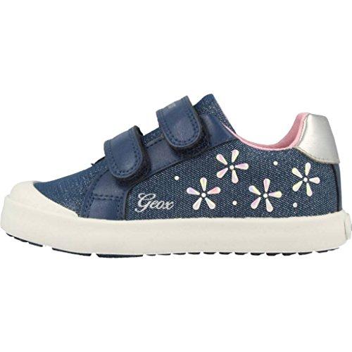 Geox Baby Mädchen B Kilwi Girl C Sneaker, Blau (Avio), 25 EU - 2