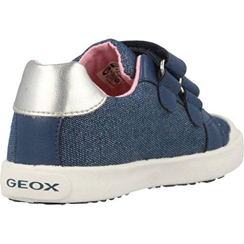 Geox Baby Mädchen B Kilwi Girl C Sneaker, Blau (Avio), 25 EU - 3