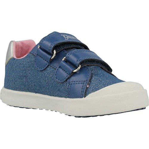 Geox Baby Mädchen B Kilwi Girl C Sneaker, Blau (Avio), 25 EU - 4
