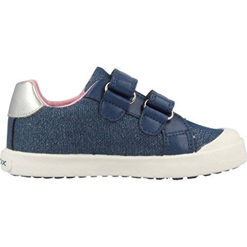 Geox Baby Mädchen B Kilwi Girl C Sneaker, Blau (Avio), 25 EU - 5