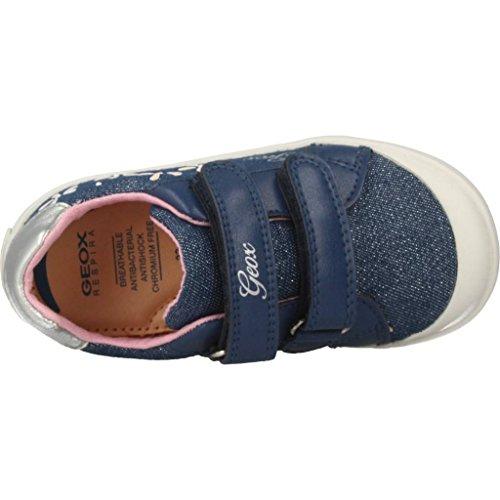 Geox Baby Mädchen B Kilwi Girl C Sneaker, Blau (Avio), 25 EU - 6