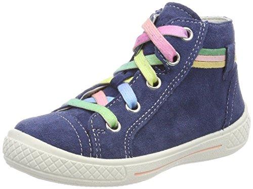 Superfit Mädchen Tensy Hohe Sneaker, Blau