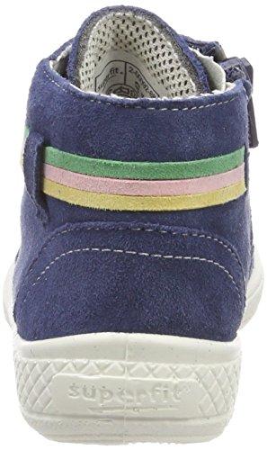 Superfit Mädchen Tensy Hohe Sneaker, Blau (Water Kombi), 28 EU - 5