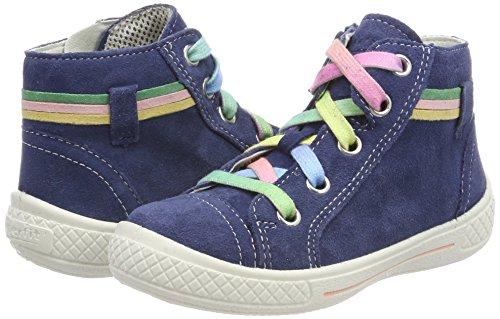 Superfit Mädchen Tensy Hohe Sneaker, Blau (Water Kombi), 28 EU - 6