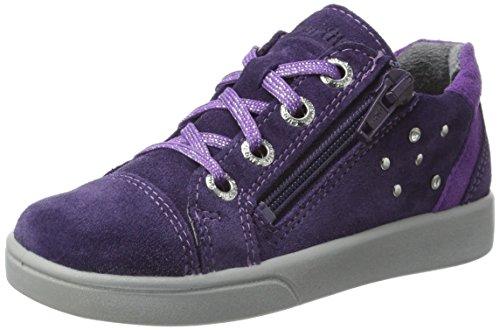 Superfit Mädchen Marley Sneaker, Violett