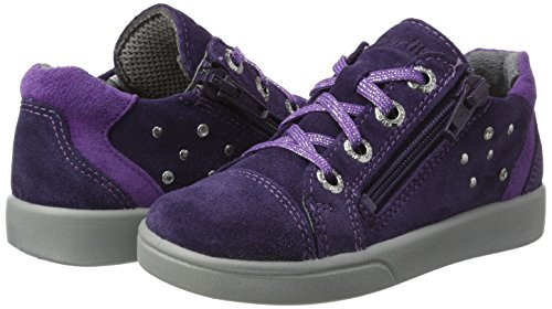 Superfit Mädchen Marley Sneaker, Violett (Raisin Kombi), 33 EU - 2