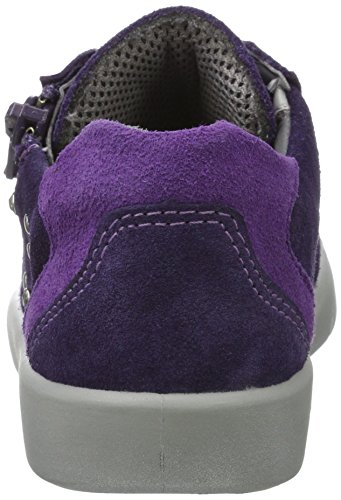 Superfit Mädchen Marley Sneaker, Violett (Raisin Kombi), 33 EU - 4