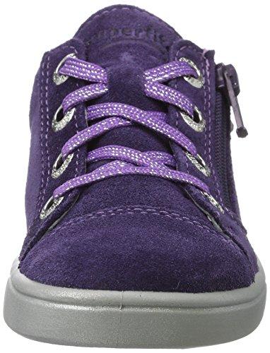Superfit Mädchen Marley Sneaker, Violett - 5