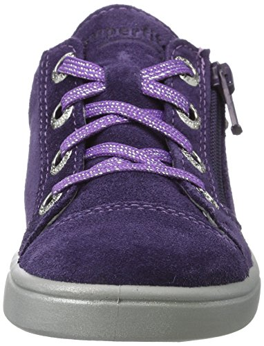 Superfit Mädchen Marley Sneaker, Violett (Raisin Kombi), 33 EU - 5