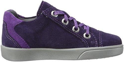 Superfit Mädchen Marley Sneaker, Violett (Raisin Kombi), 33 EU - 7