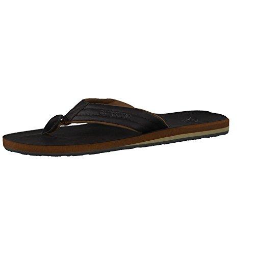 Quiksilver Herren Carver Nubuck Sandals, Braun