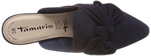 Tamaris Damen 27354 Pantoletten, Blau (Navy), 40 EU - 5