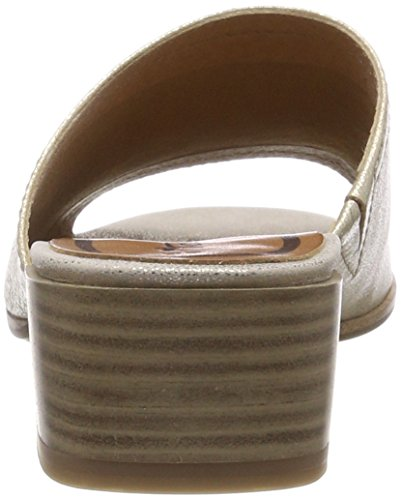Tamaris Damen 27233 Pantoletten, Gold (Light Gold), 40 EU - 2