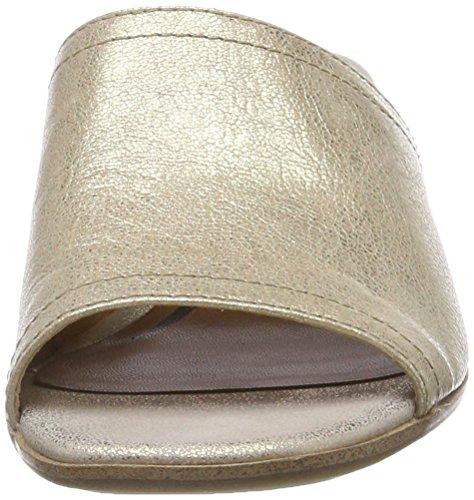 Tamaris Damen 27233 Pantoletten, Gold (Light Gold), 40 EU - 4