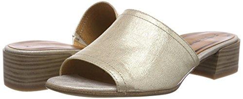 Tamaris Damen 27233 Pantoletten, Gold (Light Gold), 40 EU - 5