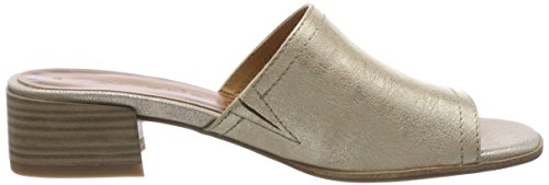 Tamaris Damen 27233 Pantoletten, Gold (Light Gold), 40 EU - 6