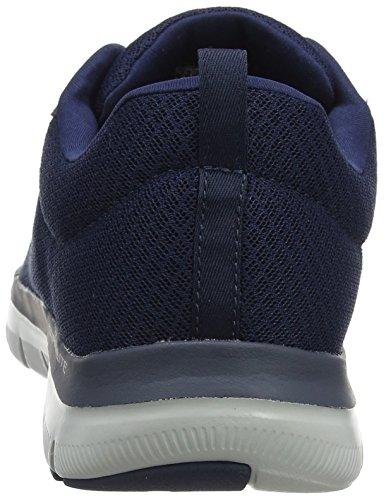 Skechers Herren Flex Advantage 2.0-Dayshow Sneaker, Blau (Navy), 44 EU - 3