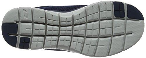 Skechers Herren Flex Advantage 2.0-Dayshow Sneaker, Blau (Navy), 44 EU - 4