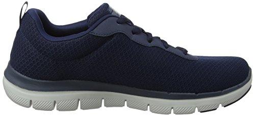 Skechers Herren Flex Advantage 2.0-Dayshow Sneaker, Blau (Navy), 44 EU - 6