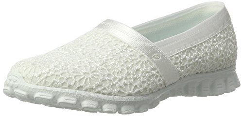 Skechers EZ Flex 2 Make Believe Damen Slipper, Weiß