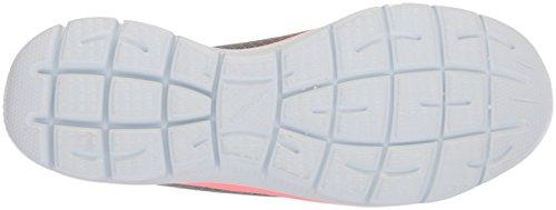 Skechers Damen Summits Sneaker, Grau (Grey/Pink), 39 EU - 4