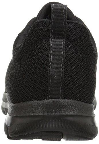 Skechers Damen Flex Appeal 2.0-Newsmaker Sneaker, Schwarz (Schwarz), 39.5 EU - 3