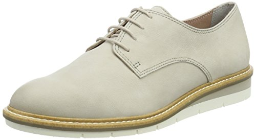 Tamaris Damen Oxfords, Beige (Ivory)