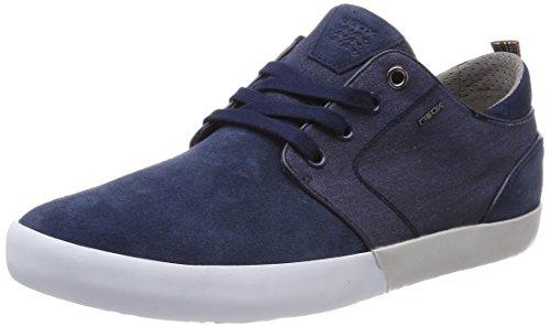 Geox Herren U Smart B Sneaker, Blau