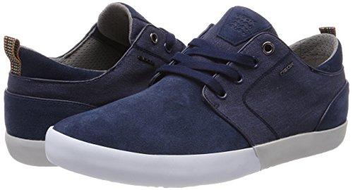 Geox Herren U Smart B Sneaker, Blau (Blue), 42 EU - 7