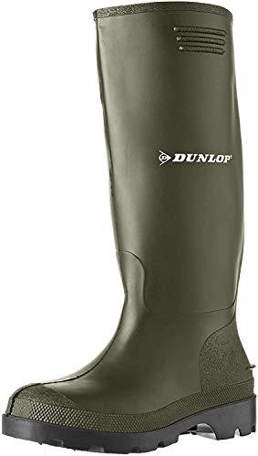 Dunlop Herren Stiefel, Grün, 43 EU - 5