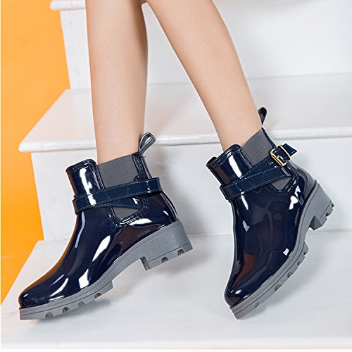Chelsea Boots Gummistiefel, Blau - 6