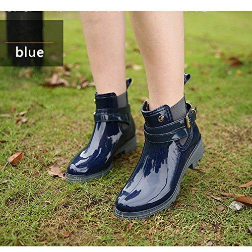 Chelsea Boots Gummistiefel, Blau - 7