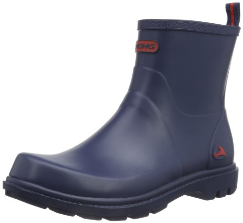 Viking Noble Damen Kurzschaft Gummistiefel, Blau