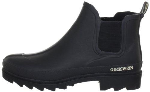 Giesswein Zeching H:14cm, Damen Kurzschaft Gummistiefel, Schwarz (022/schwarz), 38 EU - 7