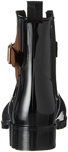 Tamaris Damen 25410 Stiefel, Schwarz (Black/Cognac), 40 EU - 2