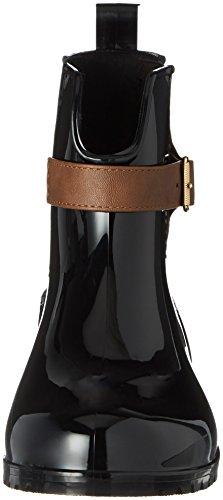 Tamaris Damen 25410 Stiefel, Schwarz (Black/Cognac), 40 EU - 5