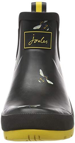 Tom Joule Joules Damen Wellibob Gummistiefel, Schwarz (Black Botanical Bees Blkbotb), 42 EU - 2