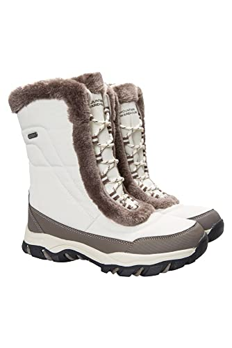 Mountain Warehouse Ohio Damen Schneestiefel, Beige