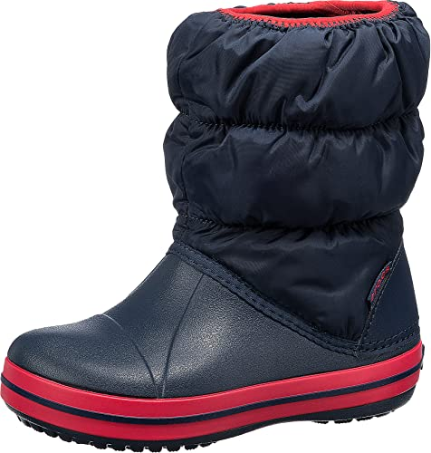 crocs Winter Puff Boot Kids, Blau