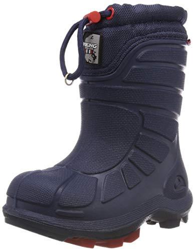 Viking Unisex-Kinder Extreme Schneestiefel, Blau