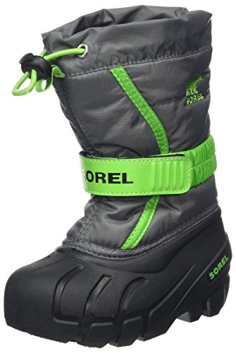 Sorel Childrens Flurry Kinder Schneestiefel, Grau