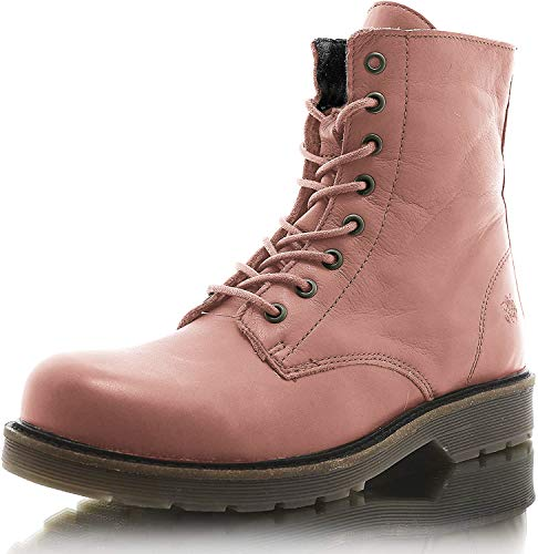 Apple of Eden Damen Sun Biker Boots, Pink
