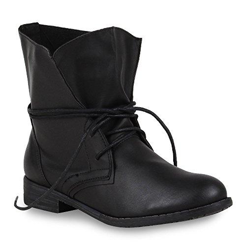 Trendy Damen Stiefeletten Blockabsatz - 2