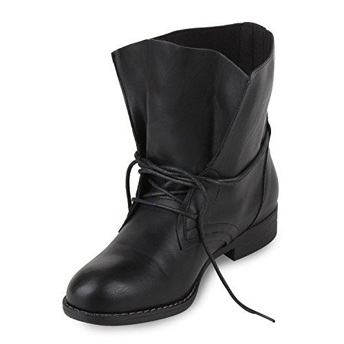 Trendy Damen Stiefeletten Blockabsatz - 6