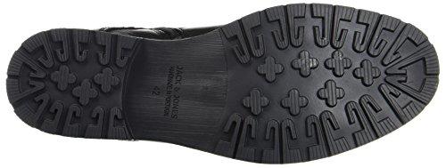 JACK & JONES Herren Jfwmarly Leather Stiefel, Schwarz - 2